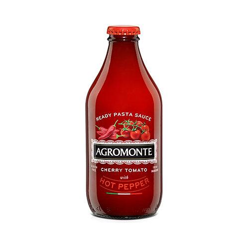 "Sauce de tomate cerise au piment ""Agromonte"" - 33 cl."