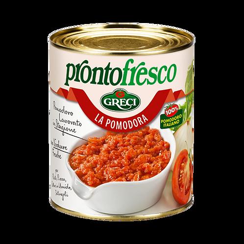 """Salsa con pomodoro alle verdure """"La Pomodora"""" -830 gr."""