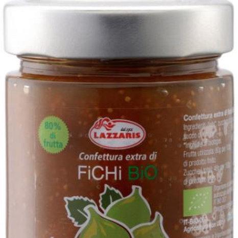 """Confettura Extra di Fichi Bio-zero pectina """"Lazzaris"""" - 640 gr."""