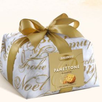 Panettone classico hand wrapped - 1 kg.