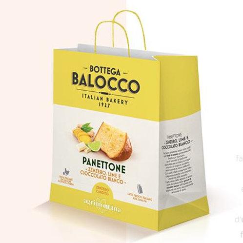 Panettone Zenzero/Lime shopper bag BB - 750 gr
