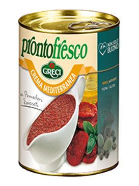"""Crema di pomodori secchi """"Crema Mediterranea"""" - 400 gr."""