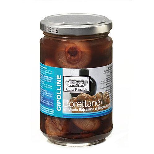 """Petit oignons borettane au vinaigre balsamique """"Casa Rinaldi"""" - 300 gr."""