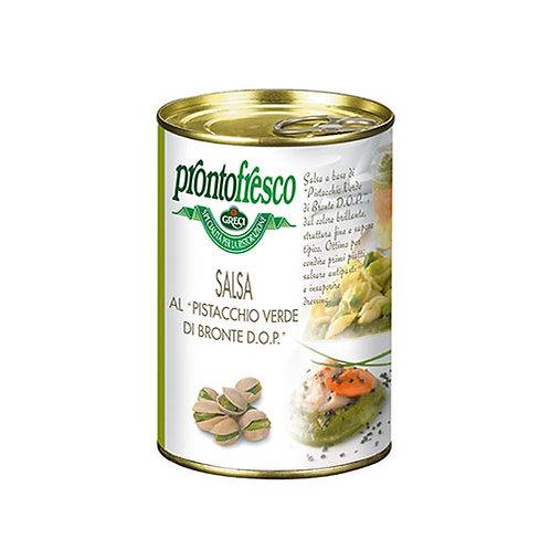 Sauce pistaches vertes de Bronte DOP - 400 gr.