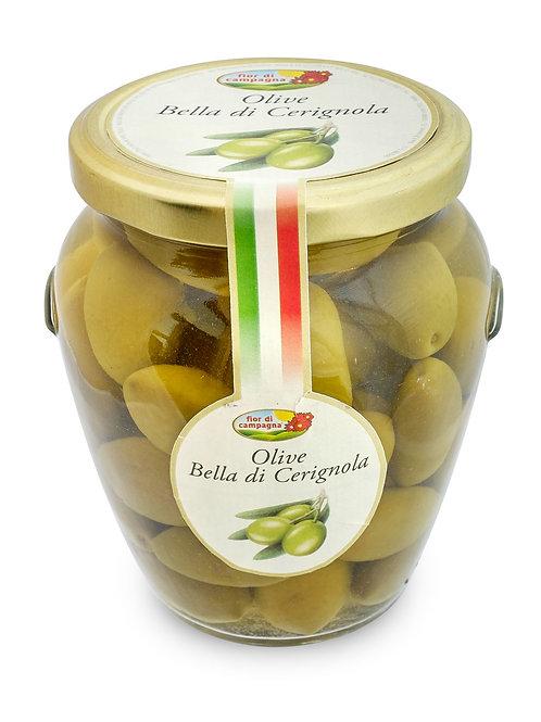 Olives Bella Cerignola en saumure - 570 gr.