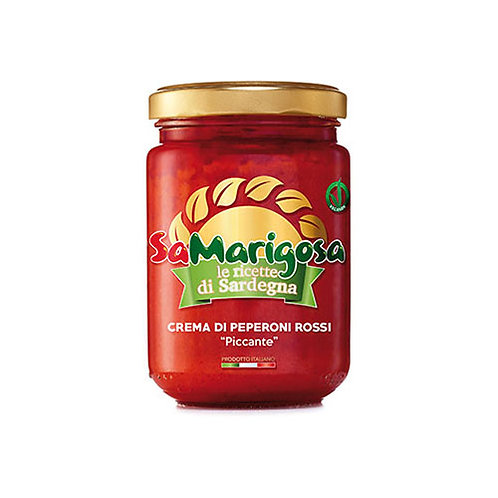 Crème de poivrons rouge pimentèe - 130 gr
