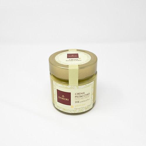"""Crema spalmabile al cioccolato bianco e pistacchio """"Domori"""" - 200 gr."""