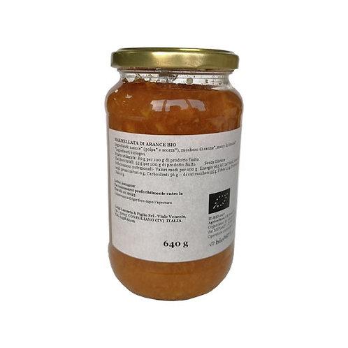 Marmelade d'Orange Bio - 'Lazzaris' 640gr