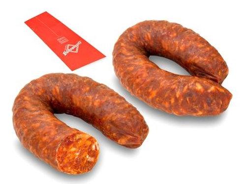 """Salsiccia piccante ad U """"Pedrazzoli - 500 gr"""