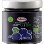 "Confettura Extra di Mirtilli Bio-zero pectina ""Lazzaris"" - 250 gr."