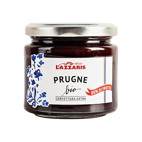 "Confiture Extra Prune Bio ""Lazzaris"" - 230 gr."