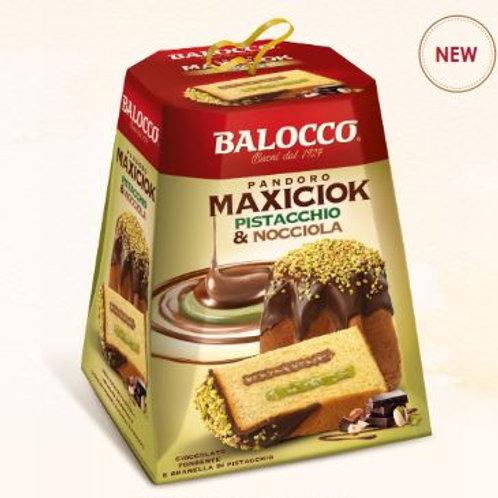 Pandoro Maxiciok Pistacchio & nocciola - 800 gr