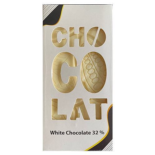 Tablette chocolate blanc 32% -100gr