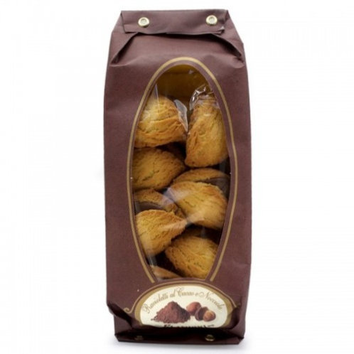 """Ravioletti à la crème de cacao et de noix """"Flamigni"""" - 200 gr."""