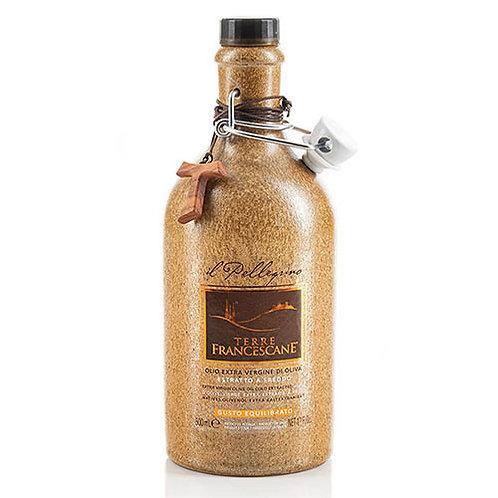 "Huile d'olive extra vierge ""Il Pellegrino"" Terre Francescane - 500 ml."