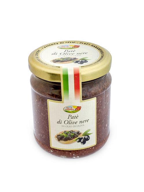 """Pate' di Olive Nere """"Fior di Campagna"""" - 190 gr."""
