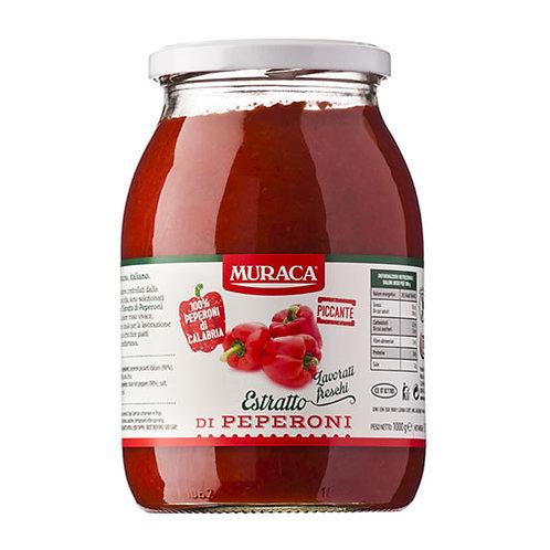 """Extrait de poivrons piquants """"Muraca"""" - 580 ml"""