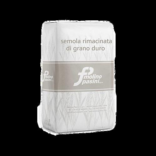 """Farine de semoule """"Molino Pasini"""" - 5 kg."""