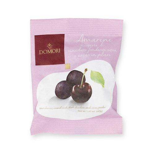 """Amarena Cherry Dragees """"Domori"""" - 40 gr"""