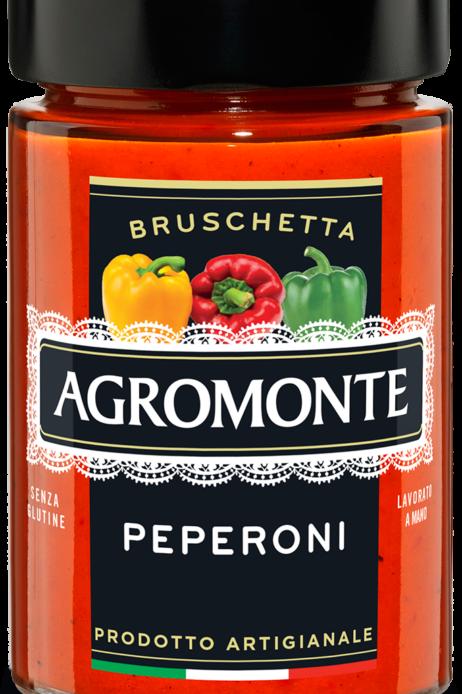 "Bruschetta ai peperoni ""Agromonte"" - 100 gr"