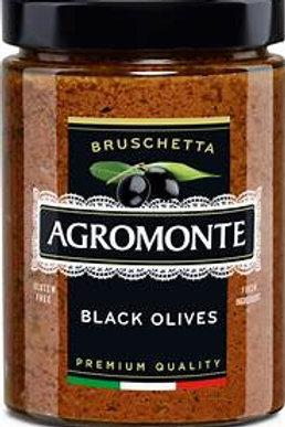 Paté d'olives noires AGROMONTE - 100 gr.