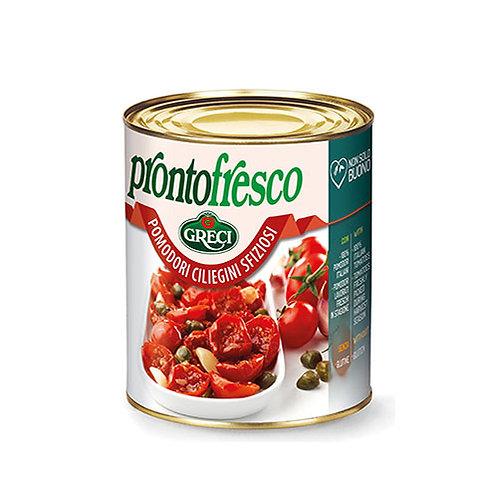 "Tomates cerises semi-séchées à l'huile ""sfiziosi"" - 780 gr."