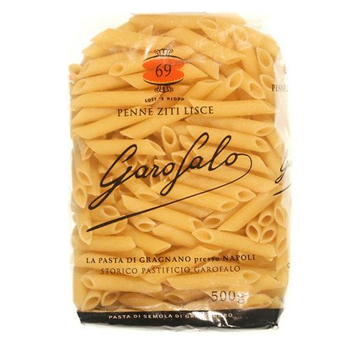 """Penne ziti lisce 69 """"Garofalo"""" - 500 gr."""