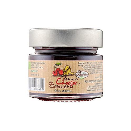 Sauce aux cerises et au gingembre - 100 gr.