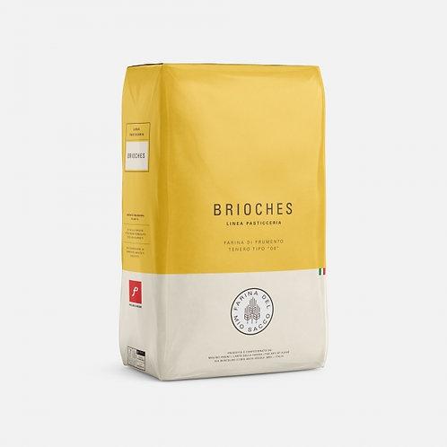 """Farina """"Brioches"""" pasticceria Molino Pasini - 10 kg."""