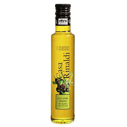 """Huile d'olive EVO """"100 % Italiano """"Casa Rinaldi"""" - 250 ml."""