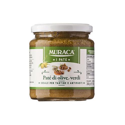 "Pâte d'olives vertes ""MURACA"" - 156 ml"