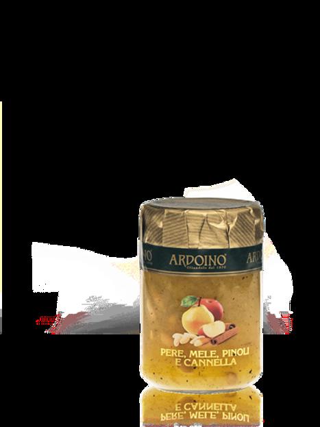"""Composta di pere, mele, pinoli e cannella """"Ardoino"""" - 346 gr."""