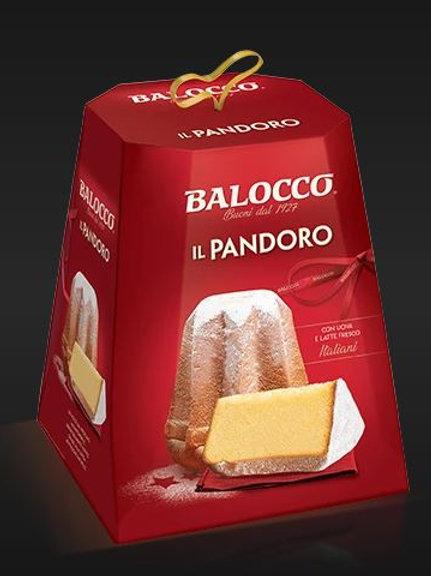 Mini Pandoro in box 80gr  (Display carton x24)