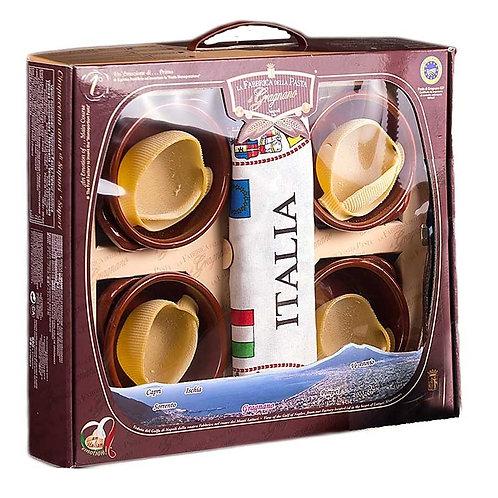 """Le Caccavelle avec terrines """"La Fabbrica della Pasta"""" - 4 x 50 gr."""
