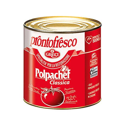 """Pulpe de tomate """"Polpachef"""" - 2.5 kg."""