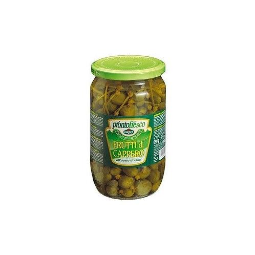 Frutto di cappero in aceto - 690 gr.