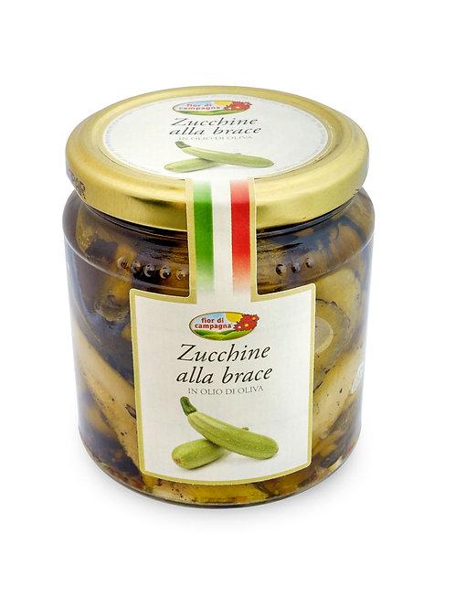 """Zucchine alla Brace """"Fior di Campagna"""" - 280 gr."""