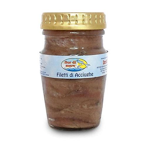 """Filets d'anchois o/s """"Fior di Mare"""" - 80 gr."""