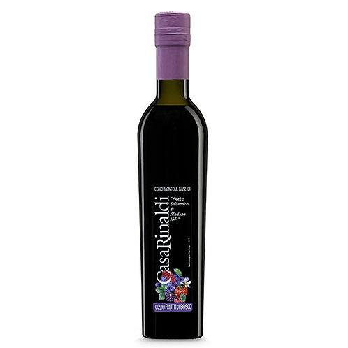 Condiment à base de vinaigre balsamique de Modène IGP & baies sauvages - 250 ml