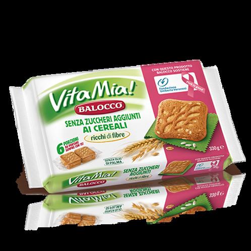 """Vita Mia! senza zucchero ai cereali """"Balocco"""" - 330 gr."""