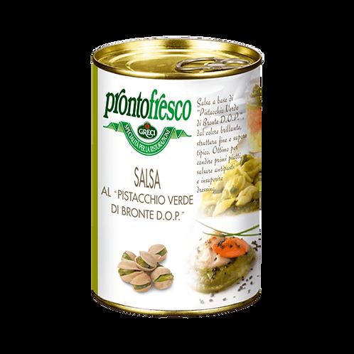 Salsa al Pistacchio verde di Bronte DOP - 400 gr.