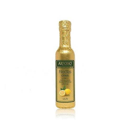 Huile d'olive extra vierge FRUCTUS aromatisée au Citron. Ardoino - 250 ml.