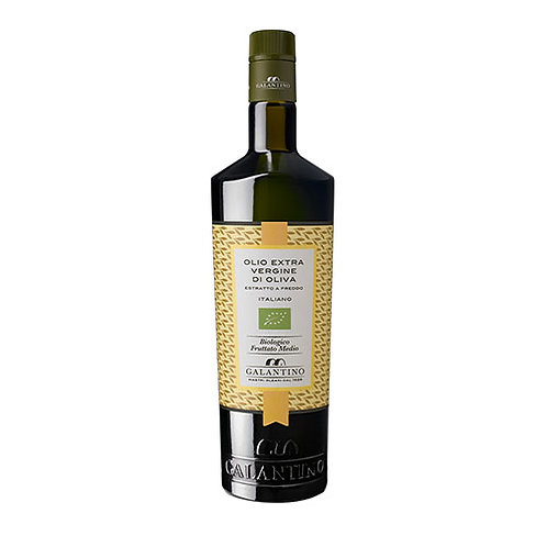 "Huile d'olive extra vierge moitié fruité ""BIO DOP Terra di Bari Monet"" - 500 ml"