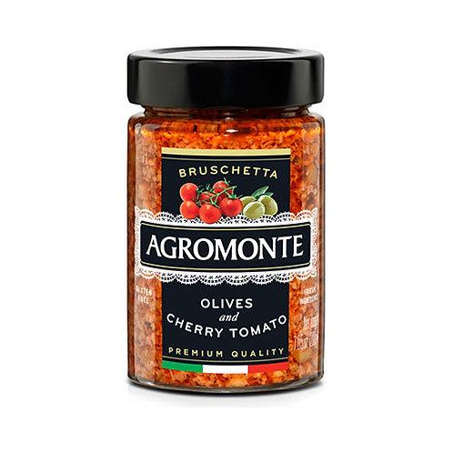 "Bruschetta olive et tomate cerise ""Agromonte"" - 100 gr"