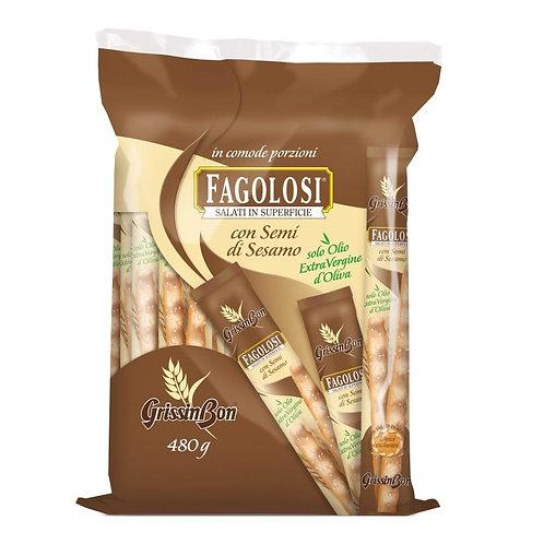 "Grissini ""Fagolosi al sesamo"" - 40 x 12 gr."