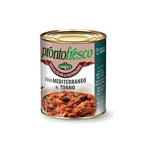 Sauce méditerranéenne au thon - 800 gr.