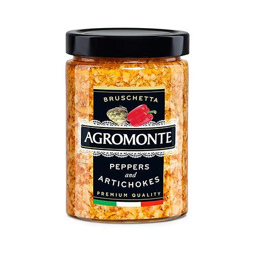 """Bruschetta poivron et artichaut """"Agromonte"""" - 100 gr"""