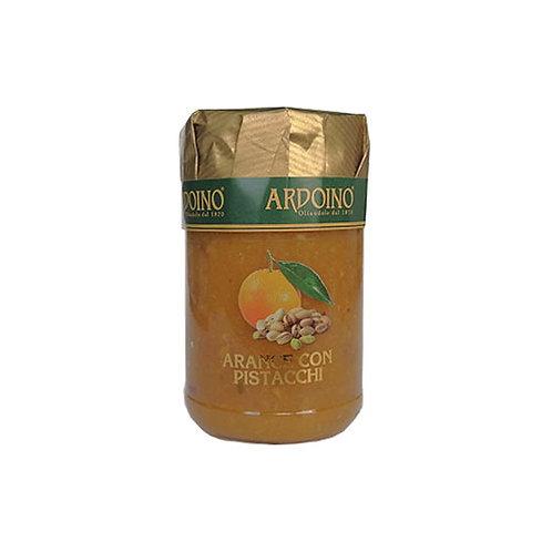 """Compote d'oranges et pistaches """"Ardoino"""" - 346 gr."""
