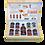 """Thumbnail: Coffret cadeau (1 bouteille + 8 pots) """"Agromonte"""""""