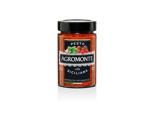 """Pesto alla Siciliana """"Agromonte"""" - 100 gr."""